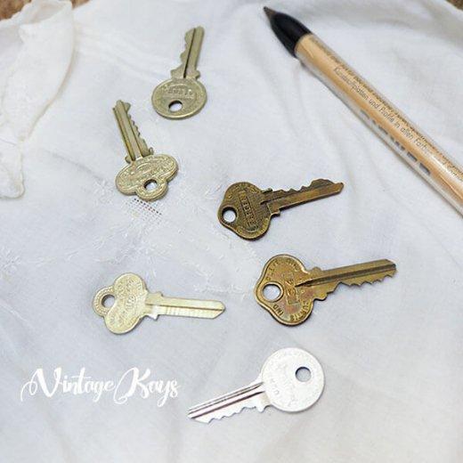 USA 1950年代〜 アンティーク キー 6本セット 鍵【C-type】【画像6】