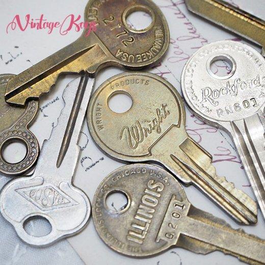 USA 1950年代〜 アンティーク キー 6本セット 鍵【B-type】【画像8】