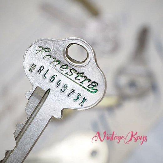 USA 1950年代〜 アンティーク キー 6本セット 鍵【A-type】【画像4】