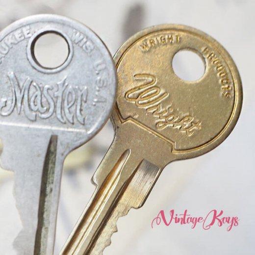 USA 1950年代〜 アンティーク キー 6本セット 鍵【A-type】【画像6】