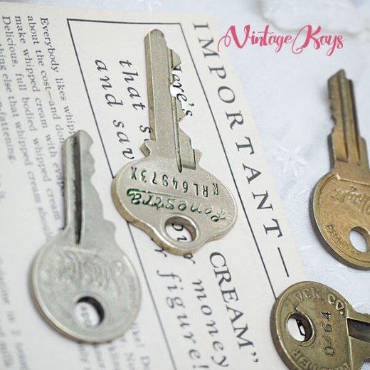USA 1950年代〜 アンティーク キー 6本セット 鍵【A-type】【画像7】