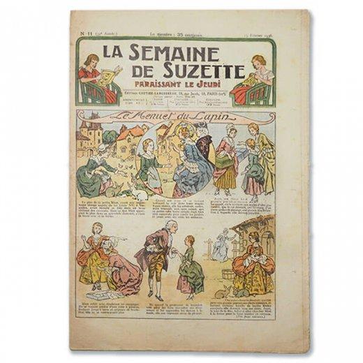 フランス La Semaine de Suzette(アンティーク週間誌 K)