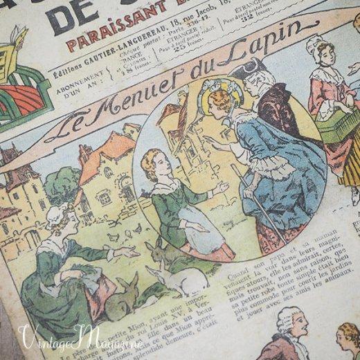 フランス La Semaine de Suzette(アンティーク週間誌 K)【画像2】