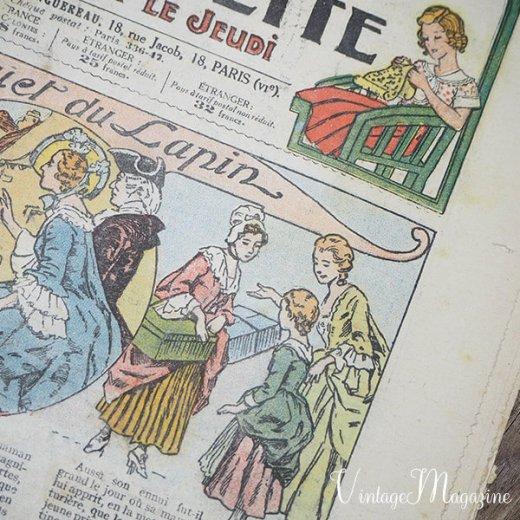 フランス La Semaine de Suzette(アンティーク週間誌 K)【画像3】