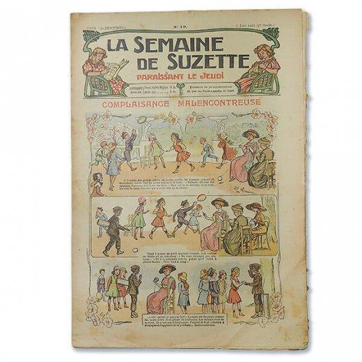 フランス La Semaine de Suzette(アンティーク週間誌 L)