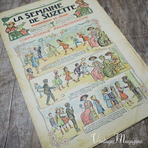 フランス La Semaine de Suzette(アンティーク週間誌 L)【画像9】
