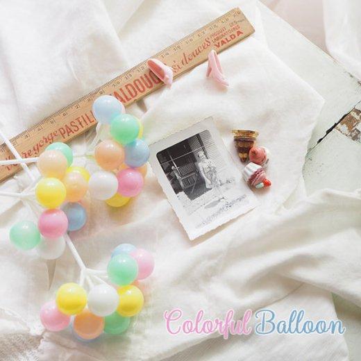 カラフルバルーン 風船オブジェ(Pastel color)【画像5】