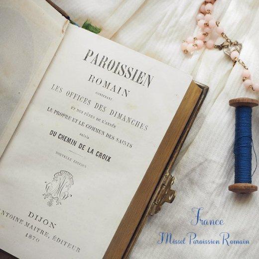 フランス アンティーク 聖書 1870年製【画像6】