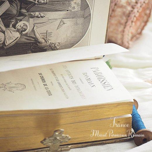 フランス アンティーク 聖書 1870年製【画像7】