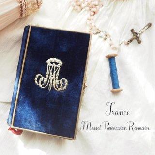 フランス アンティーク 聖書 1870年製