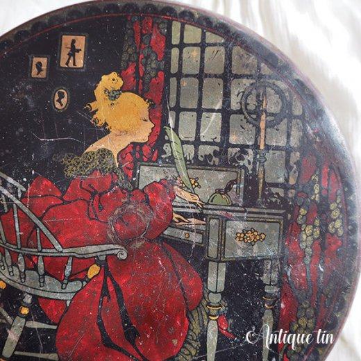 USA  1900年代初頭 アンティーク ヴィクトリアン朝 TIN缶 【TINDECO社】【画像3】