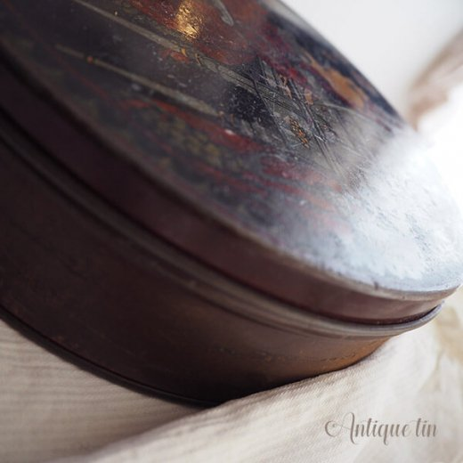 USA  1900年代初頭 アンティーク ヴィクトリアン朝 TIN缶 【TINDECO社】【画像4】