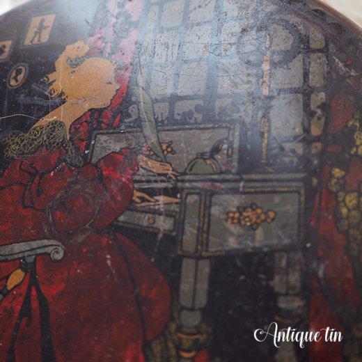USA  1900年代初頭 アンティーク ヴィクトリアン朝 TIN缶 【TINDECO社】【画像5】