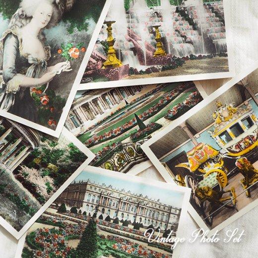 【希少】フランス 1920年代 アンティーク 彩色写真 スーベニア フォトカードセット(ベルサイユ宮殿)【画像3】