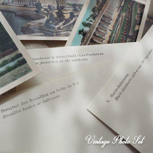 【希少】フランス 1920年代 アンティーク 彩色写真 スーベニア フォトカードセット(ベルサイユ宮殿)【画像4】