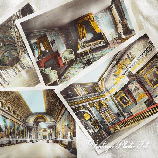 【希少】フランス 1920年代 アンティーク 彩色写真 スーベニア フォトカードセット(ベルサイユ宮殿)【画像7】