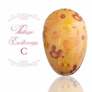 イースター 復活祭 雑貨 イギリス 1950年代 アンティーク イースターエッグ【C】ピーチ・ティン缶 復活祭うさぎ ひよこ