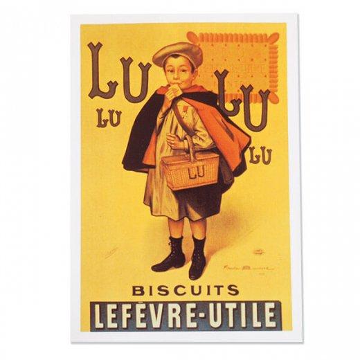フランス ポストカード(LU BISCUITS ルー ビスケット)