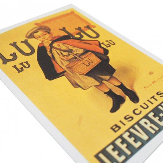 フランス ポストカード(LU BISCUITS ルー ビスケット)【画像3】
