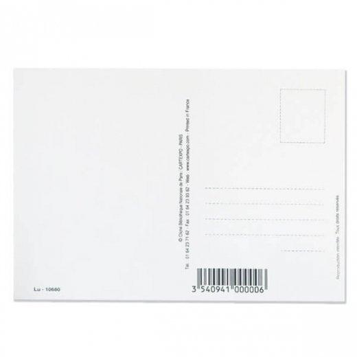 フランス ポストカード(LU BISCUITS ルー ビスケット)【画像4】