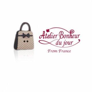 フランス輸入ボタン アトリエ・ボヌール・ドゥ・ジュール【bag】