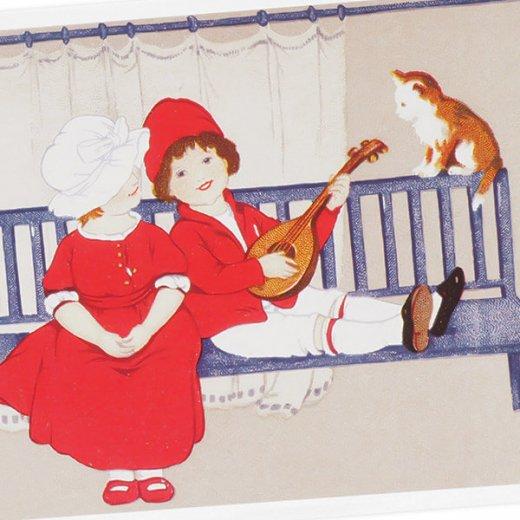 フランス ポストカード  (Mandoline)【画像2】