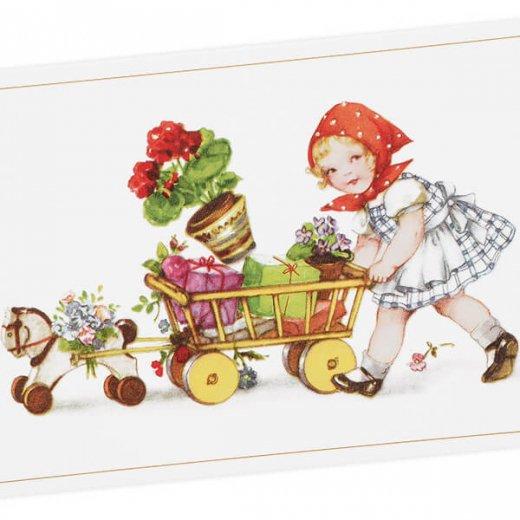 フランス ポストカード  (Petit chaperon rouge)【画像2】
