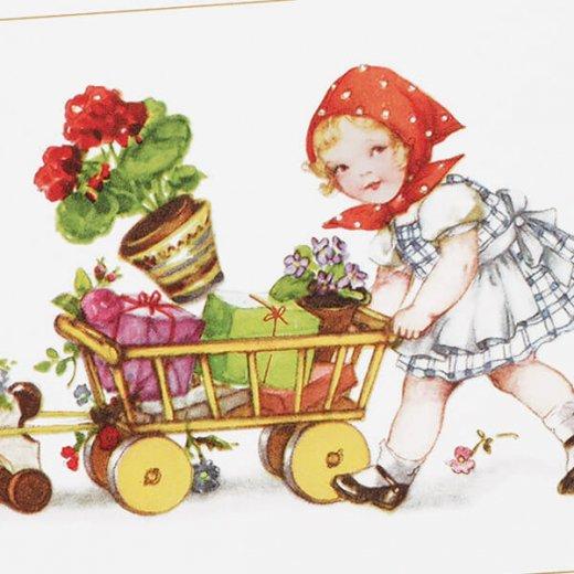 フランス ポストカード  (Petit chaperon rouge)【画像3】