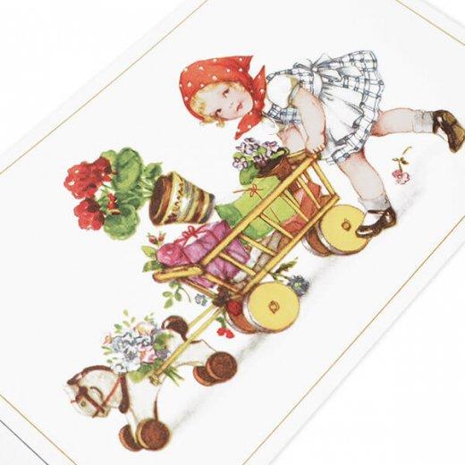 フランス ポストカード  (Petit chaperon rouge)【画像4】