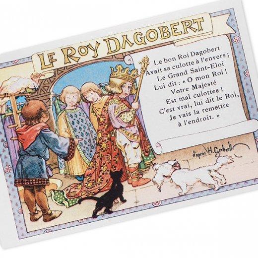 フランス ポストカード  (le roy dagobert)【画像2】