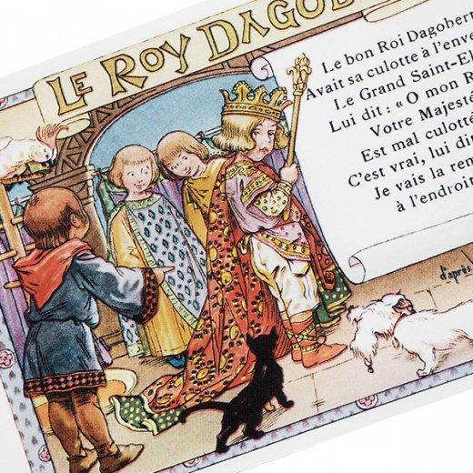 フランス ポストカード  (le roy dagobert)【画像3】