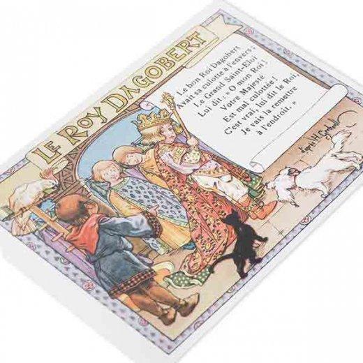 フランス ポストカード  (le roy dagobert)【画像4】