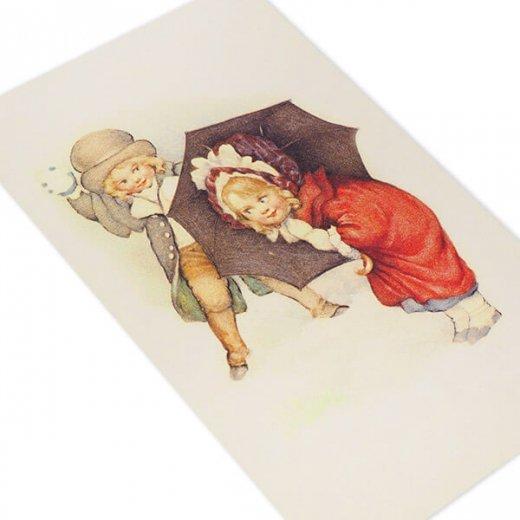 フランスポストカード (Bataille de boules de neige)【画像4】