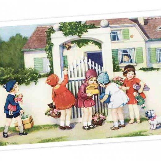 フランス ポストカード  (Bienvenue E)【画像2】