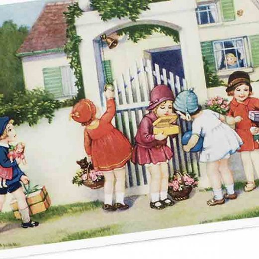 フランス ポストカード  (Bienvenue E)【画像3】