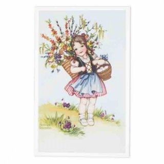 ガーリー 雑貨 フランス イースター 復活祭 ポストカード (Paques S)