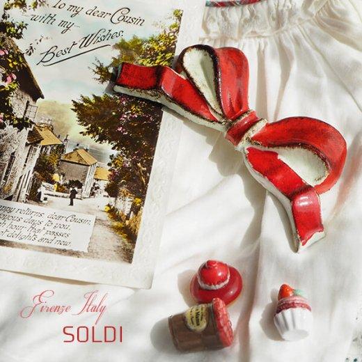 SOLDI ソルディ イタリア フィレンツェ リボン【carmine】【画像2】