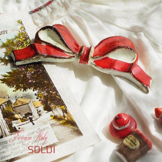 SOLDI ソルディ イタリア フィレンツェ リボン【carmine】【画像4】