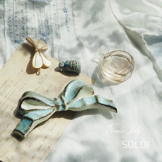 SOLDI ソルディ イタリア フィレンツェ リボン【iceblue】【画像3】