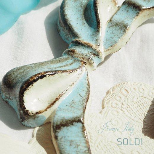 SOLDI ソルディ イタリア フィレンツェ リボン【iceblue】【画像4】