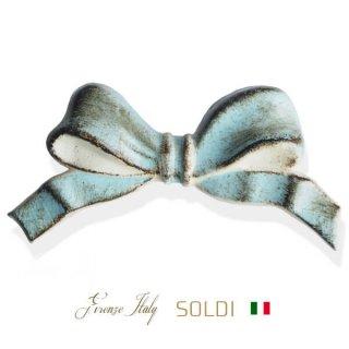 SOLDI ソルディ イタリア フィレンツェ リボン【iceblue】
