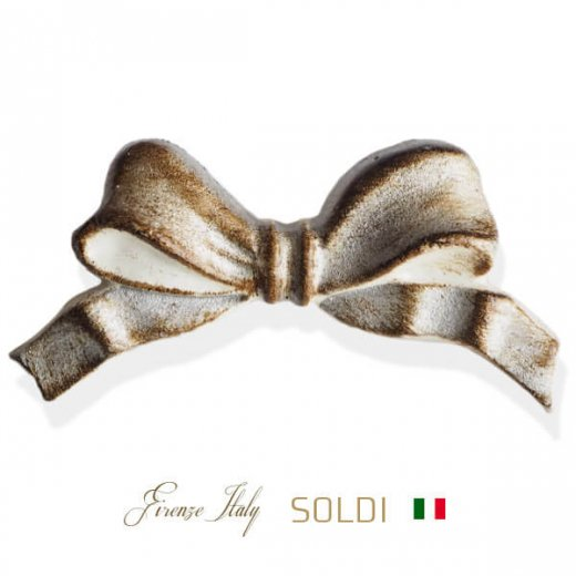 SOLDI ソルディ イタリア フィレンツェ リボン【two‐tone silver】