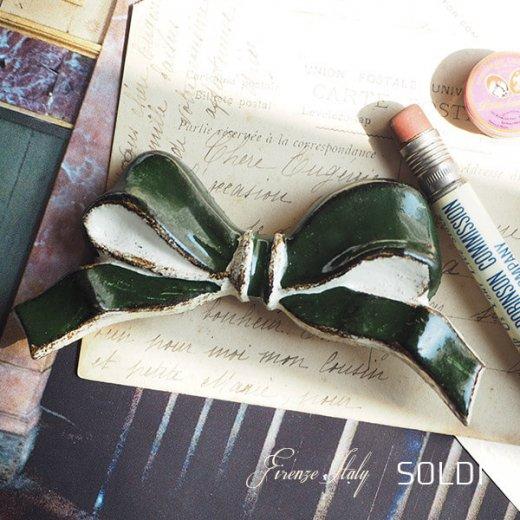 SOLDI ソルディ イタリア フィレンツェ リボン【forest green】【画像2】