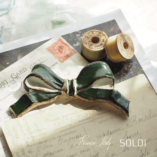SOLDI ソルディ イタリア フィレンツェ リボン【forest green】【画像3】