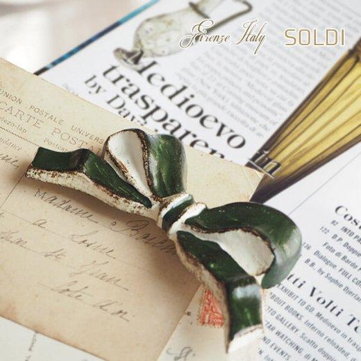 SOLDI ソルディ イタリア フィレンツェ リボン【forest green】【画像5】