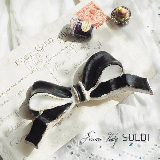SOLDI ソルディ イタリア フィレンツェ リボン【black】【画像2】