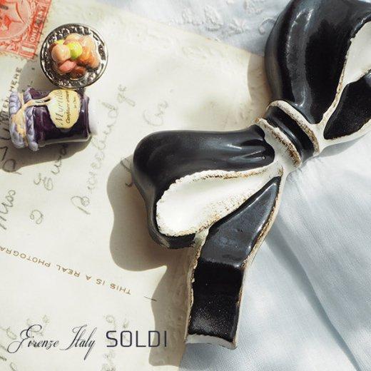 SOLDI ソルディ イタリア フィレンツェ リボン【black】【画像4】