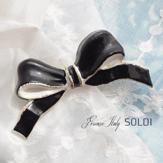 SOLDI ソルディ イタリア フィレンツェ リボン【black】【画像6】
