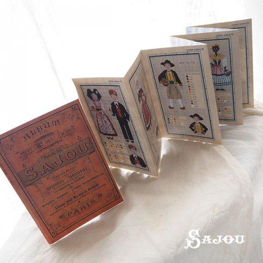 フランス SAJOU 刺繍図案 913【民族衣装】【画像3】