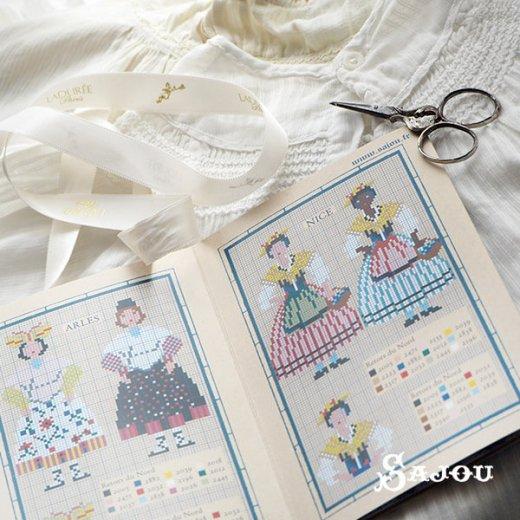 フランス SAJOU 刺繍図案 913【民族衣装】【画像4】